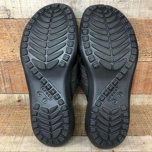 CROCS Shoes - Crocs • Women's Capri Shimmer Cross-Band Sandal